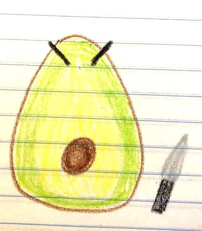 angry avocado
