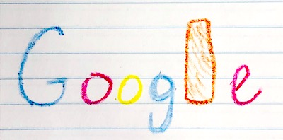 google doodle mozzarella sticks